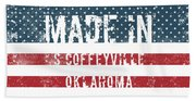 Made In S Coffeyville, Oklahoma Beach Towel