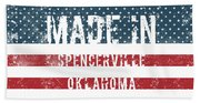 Made In Spencerville, Oklahoma Beach Sheet