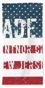 Made In Ventnor City, New Jersey Beach Towel