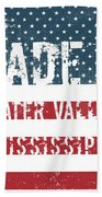 Made In Water Valley, Mississippi Beach Towel
