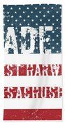 Made In West Harwich, Massachusetts Beach Towel