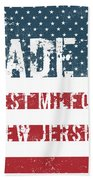Made In West Milford, New Jersey Beach Towel