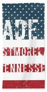 Made In Westmoreland, Tennessee Beach Towel