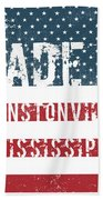 Made In Winstonville, Mississippi Beach Towel