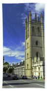 Magdalen Tower Beach Towel