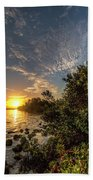 Mangrove Sunrise Beach Towel