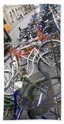 Many Bikes Beach Towel