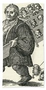 Martin Luther (1483-1546) Beach Towel