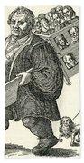 Martin Luther (1483-1546) Beach Sheet