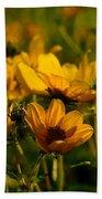 Maximilian Sunflowers Beach Towel