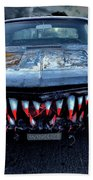 Mean Streets Of Belmont Heights Beach Towel