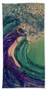 Mermaid Wave Beach Towel