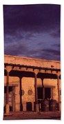 Mexican Cantina Rio Lobo Set Old Tucson Arizona 1970-1980 Beach Towel