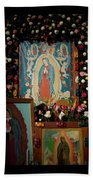 Mexico Our Lady Of Guadalupe Pilgrimage Beach Towel