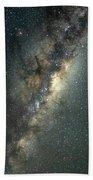 Milky Way With Mars Beach Towel