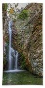 Millomeris Waterfall - Cyprus Beach Towel