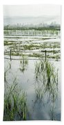 Misty Morning In China Beach Towel