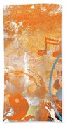 Modern Art Beyond Control Beach Towel