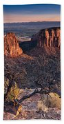 Morning At Colorado National Monument Beach Towel