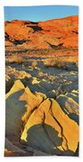 Morning Comes To Valley Of Fire Beach Towel