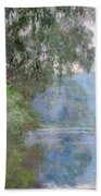 Morning On The Seine Near Giverny 1897 Beach Towel