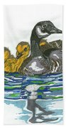 Morning Outing Beach Towel