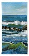 Morning Rush Beach Towel