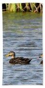 Mottled Ducks Beach Towel