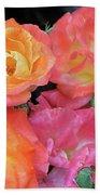 Multi-color Roses Beach Sheet