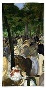 Music In The Tuileries Beach Towel