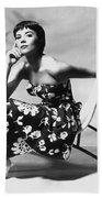 Natalie Wood Beach Towel