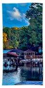 Nature Landscapes Around Lake Wylie South Carolina Beach Towel