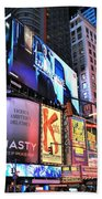 New York City Times Square Beach Towel