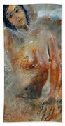 Nude 450101 Beach Towel
