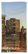 Ny Downtown Beach Towel