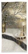 Oh Let It Snow Let It Snow Beach Sheet