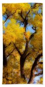 Old Giant  Autumn Cottonwood Orton Beach Towel