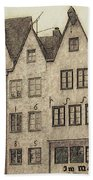 Old Town Of Cologne Beach Towel