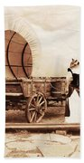 Old West Cats  Beach Towel