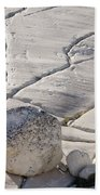Olmstead Rock And Cracks 2 Beach Towel