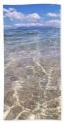 On The Horizon Beach Towel by Debbie Cundy