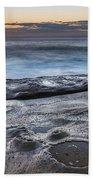 On The Ledge - Sunrise Seascape Beach Towel