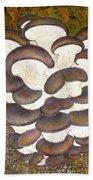Oyster Mushroom Beach Towel