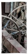 Palouse Farm Wheels 3156 Beach Towel