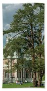 Panorama Of The Museum-estate Tsaritsyno Beach Towel