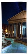 Pantheon Rome Beach Towel