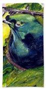 Paradise Bird Beach Sheet