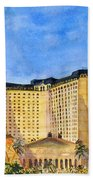Paris Hotel And Casino Beach Towel