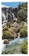 Pearl Shoal Waterfall Beach Towel