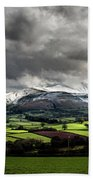 Pen Y Fan And Brecon Beacons Panorama Beach Towel